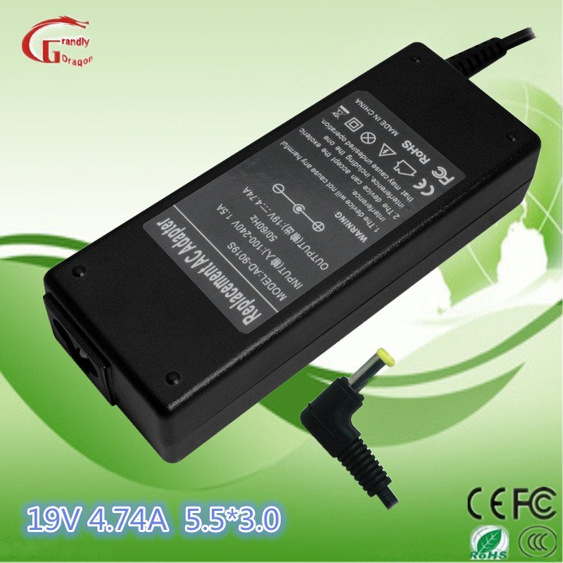 Samsung 19V 4.74A 5.5*3.0 mm Laptop Battery Charger