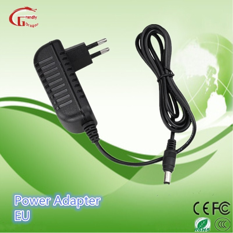 Wall Mount DC 12V1a 100-240V Tablet Charger Power Adapter